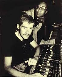 Patric Cowley and Sylvester at the sound board.